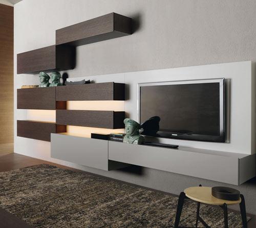 Parete Attrezzata Design Moderno Kreo.Home Ganci Arredamenti Monreale Palermo